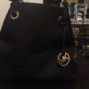 Michael Kors Signature Black Handbag